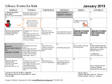 January at the Fayette County Library
