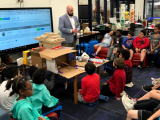 Community Planning with the City Manager at Spring Hill Elementary School